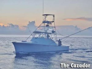 Bobby McGuinness' boat the Cazador out of Golfito Costa Rica
