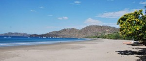 Fishing in Playa Hermosa Guancaste, one of the largest beachs that offers sportfishing trips in Costa Rica.