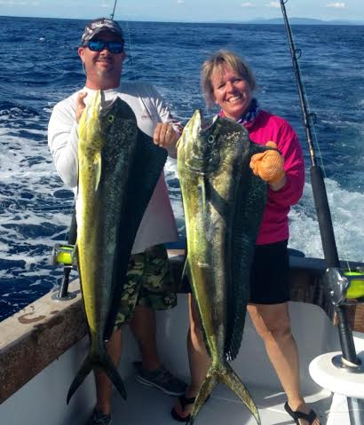 Fishing for Dorado and Mahi Mahi
