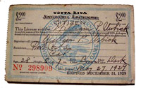 Costa Rican fishing license application right online. Download the instruction to get your fishing license for your costa rica sportfishing trip.