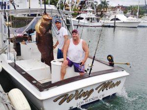 giant grouper fishing los sueños
