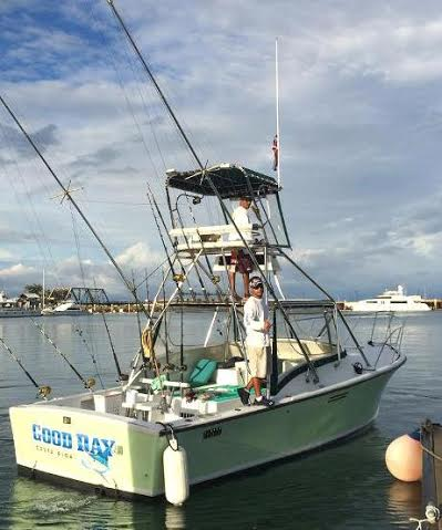 Sportfishing charters in the Manuel Antonio area of Costa Rica