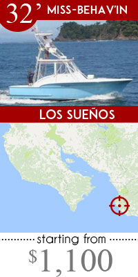 Los Suenos Fishing Charters Promotion