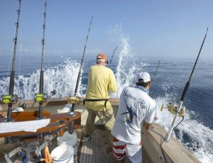 Fishing for billffish offshore in los suenos, peaks during this time of year.