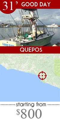 Quepos are Fishing Charters